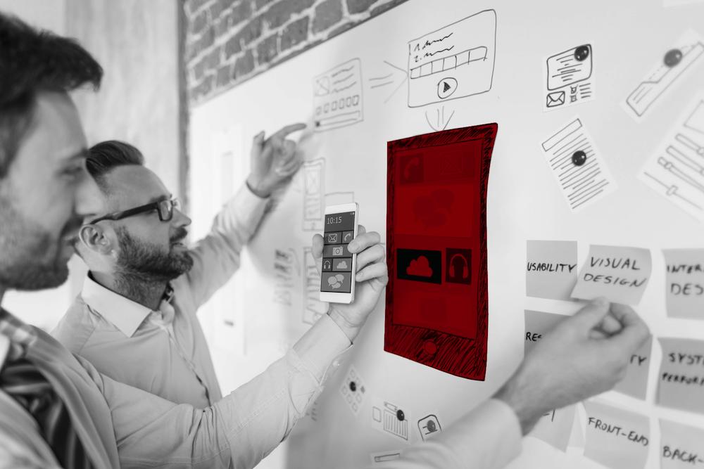agile Methoden Wand