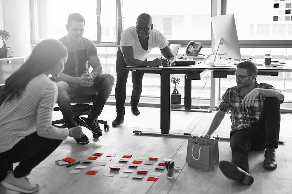 Agiles Projektmanagement und Einführung der Scrum Methode Header